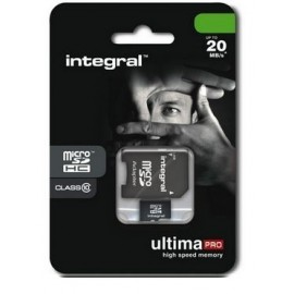 memory micro SD 16 GB 10 class by Integral black