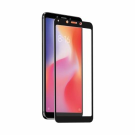 Xiaomi Redmi 6/6A Tempered Screen Glass By Muvit Black