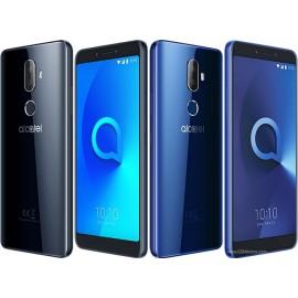 Alcatel 3V (5099D) mobiiltelefon, must (Spectrum Black)