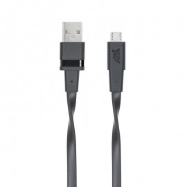 CABLE MICRO-USB 1.2M BLACK/6000 BK12 ENG RIVACASE