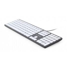 KEYBOARD MULTIMEDIA USB ENG/CHOCOL. KB-MCH-02-BKW GEMBIRD