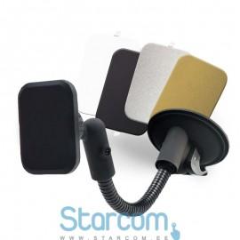 Universaalne telefoni magnet-hoidik autosse , kinnitatakse ventilatsiooni võrele