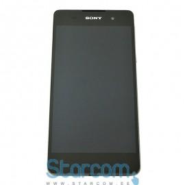 Puutetundlik klaas ja LCD ekraan Sony Xperia E5 (F3311) must