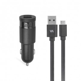 MOBILE CHARGER CAR/BLACK VA4223 BD1 RIVACASE