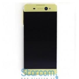 Puutetundlik klaas ja LCD ekraan Sony XA Ultra Dual SIM (F3212) kuldne