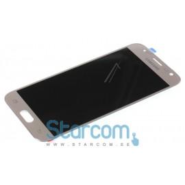 Samsung Galaxy J3 2017 (SM-J330F) Puutetundlik klaas ja LCD ekraan , Gold GH96-10990A