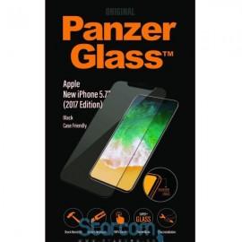 Ekraanikaitseklaas Apple iPhone X, ümbrisesõbralik, Must, PanzerGlass