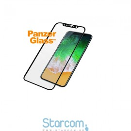 Ekraanikaitseklaas Apple iPhone X / XS, PREMIUM,must, PanzerGlass