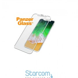 Ekraanikaitseklaas Apple iPhone X, PREMIUM, valge, PanzerGlass
