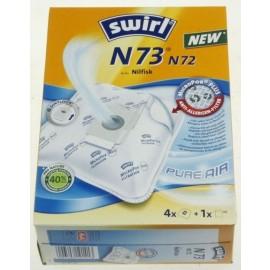 Swirl N73 / N72 tolmukotid Nilfisk tolmuimejale
