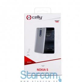 Silikoonist ümbris Nokia 5 2017 Gelskin Celly