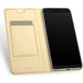 "Xiaomi Redmi Note 8 Pro ümbriskaaned kaarditaskuga Dux Ducis ""Skin Pro"", gold"