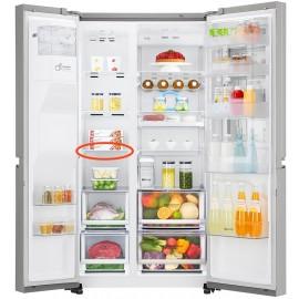 LG külmkapi sügavkülmiku keskmine klaasriiul GSX961NSAZ mudelile
