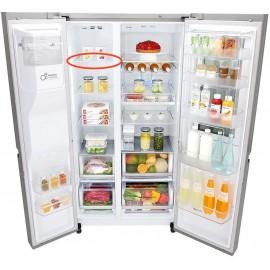 LG külmkapi sügavkülmiku klaasriiul GSX961NSAZ mudelile