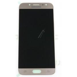Originaal displei moodul klaas + LCD ekraan  Samsung Galaxy J7 2017 (SM-J730F) , Gold GH97-20736C