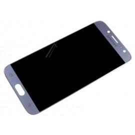 Originaal displei moodul klaas + LCD ekraan  Samsung Galaxy J7 2017 (SM-J730F) , Silver GH97-20801B
