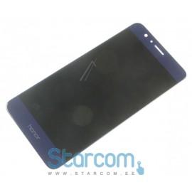 Puutetundlik klaas ja LCD ekraan Huawei Honor 8 , Sinine