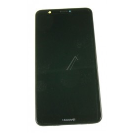 Huawei P Smart (FIG-L31) Originaal displei moodul klaas + LCD ekraan, Must