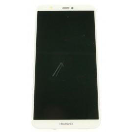Huawei P Smart (FIG-L31) Originaal displei moodul klaas + LCD ekraan, Valge