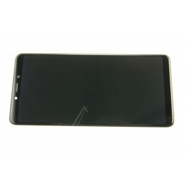 Samsung Galaxy A9 2018 (SM-A920F) Originaal displei moodul klaas + LCD ekraan, Must, GH82-18308A