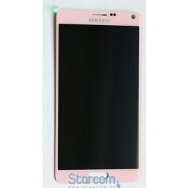 Puutetundlik klaas ja LCD ekraan SAMSUNG GALAXY Note 4 (SM-N910F), PINK