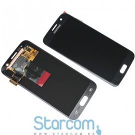 Puutetundlik klaas ja LCD ekraan SAMSUNG GALAXY S7 (SMG930F), BLACK