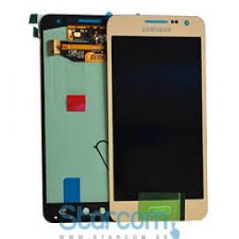 Puutetundlik klaas ja LCD ekraan SAMSUNG GALAXY A3 (SM-A300), GOLD