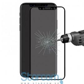 Ekraanikaitseklaas Apple Iphone 8 9H Full cover (kumerklaas) , Värvid: Must , Valge