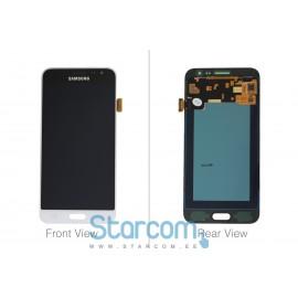 Puutetundlik klaas ja LCD ekraan SAMSUNG GALAXY J3 2016 (SM-J320F), valge