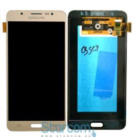 Puutetundlik klaas ja LCD ekraan SAMSUNG GALAXY J7 2016 ( SM-J710), kuldne