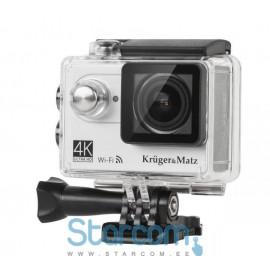 Action Kaamera 4K pildikvaliteedi salvestusega , WiFi, LCD ekraaniga, Kruger&Matz