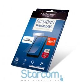 kuvaekraani kaitsekile FREEDOM C100 DIAMOND HybridGLASS, läbipaistev