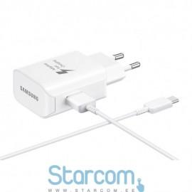 USB-C Laadija Samsung 25W (Kiirlaadija), Valge EP-TA300CWEGWW
