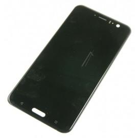 Originaal displei moodul klaas + LCD ekraan  HTC U11 , Must 62H00194