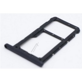 Huawei P20 lite SIM- ja mälukaardi hoidik. Midnight black, must 51661HKK