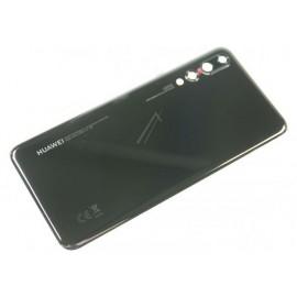 Huawei P20 Pro tagapaneel / akukaas / tagakaas, must (Black) 02351WRR