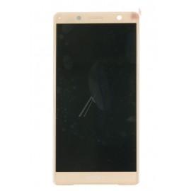 Sony Xperia XZ2 compact originaal displei moodul klaas + LCD ekraan , roosa