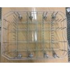 Nõudepesumasina alumine korv C00522878 482000099353 Whirlpool ADP650, Indesit ja teistele mudelitele