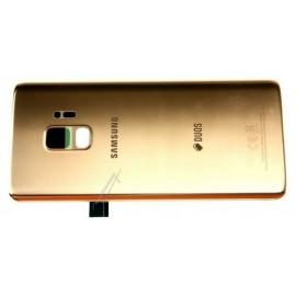Samsung Galaxy S9 SM-G960F tagaklaas / tagakaas GH82-15875E kuldne