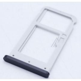Nokia 6.1 2018 TA-1050 TA-1043 SIM- ja mälukaardi hoidik, must
