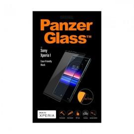 Sony Xperia 1 PanzerGlass Casefriendly ekraanikaitseklaas, must