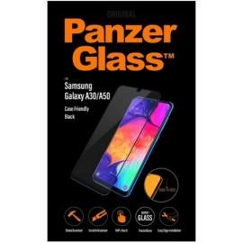 Samsung Galaxy A50 SM-A505, A30 ekraanikaitseklaas PanzerGlass, must