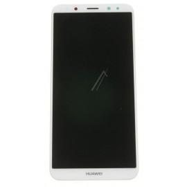 Huawei Mate 10 lite originaal displei moodul klaas + LCD ekraan , valge/ kuldne 02351QXU
