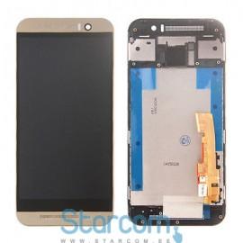 HTC One M9 puutetundlik klaas ja LCD ekraan kuldne