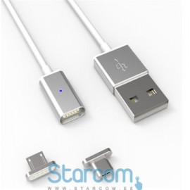 Magnetic USB cable lightning iPhone 5/6/7 , Micro USB