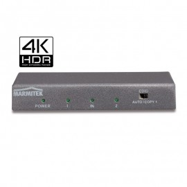 Marmitek SPLIT 612 HDMI SPLITTER (toetab 4K60) (4:4:4) UHD SUPPORT - 1 IN / 2 OUT