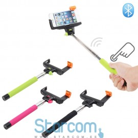 Wireless aluminium telescopic phone monopod Z60 (bluetooth)