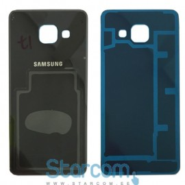 Tagapaneel (akukaas) Samsung Galaxy A3 2016 (SM-A310) , Must GH82-11093B