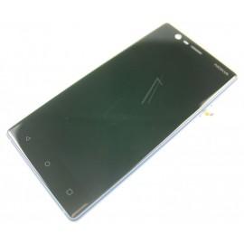 Nokia 3 displei moodul klaas + LCD ekraan, Sinine