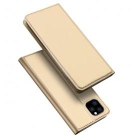 "Xiaomi Redmi Note 8 ümbriskaaned kaarditaskuga Dux Ducis ""Skin Pro"", gold"